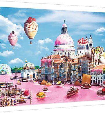 Zdjęcie Puzzle 1000 elementów - Słodycze w Wenecji - Trefl - producenta TREFL
