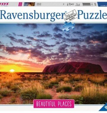 Zdjęcie Puzzle 1000el - Ayers Rock w Australii - RAVENSBURGER - producenta RAVENSBURGER