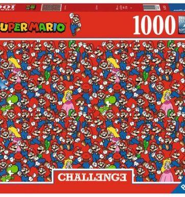 Zdjęcie Puzzle 1000el Challenge Super Mario Bros - producenta RAVENSBURGER