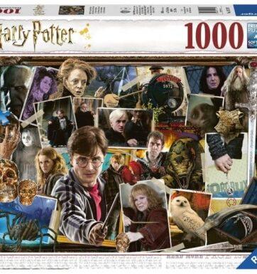 Zdjęcie Puzzle 1000el Harry Potter Voldemort - Ravensburger - producenta RAVENSBURGER