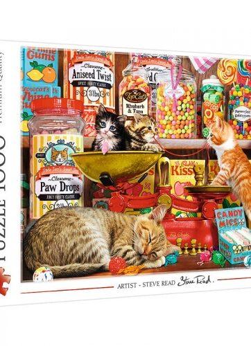 Zdjęcie Puzzle 1000el Kocie słodkości 10630 Trefl - producenta TREFL