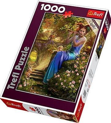 Zdjęcie Puzzle 1000el Kołysanka flecistki 10356 Trefl - producenta TREFL