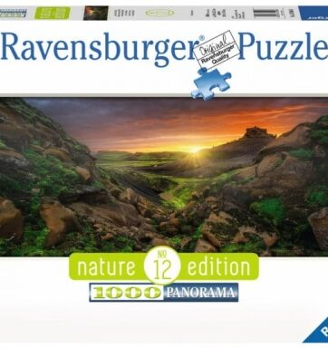 Zdjęcie Puzzle 1000el - Słońce nad Islandią - RAVENSBURGER - producenta RAVENSBURGER