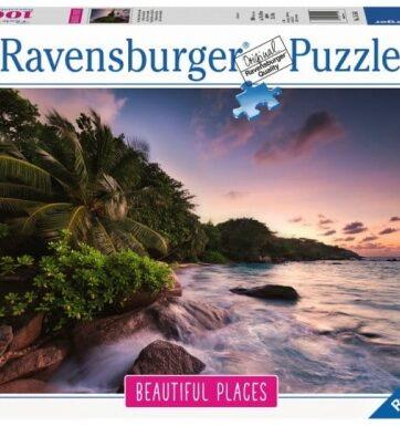 Zdjęcie Puzzle 1000el - Wyspa Praslin Seszele - RAVENSBURGER - producenta RAVENSBURGER