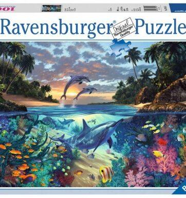 Zdjęcie Puzzle 1000el - Zatoka Koralowa - RAVENSBURGER - producenta RAVENSBURGER