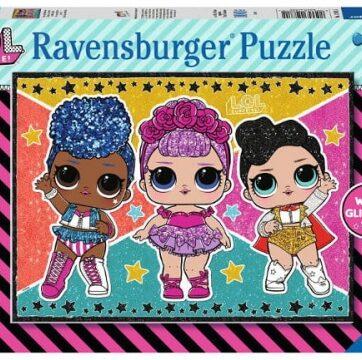 Zdjęcie Puzzle 100el XXL - LOL Surprise - Ravensburger - producenta RAVENSBURGER