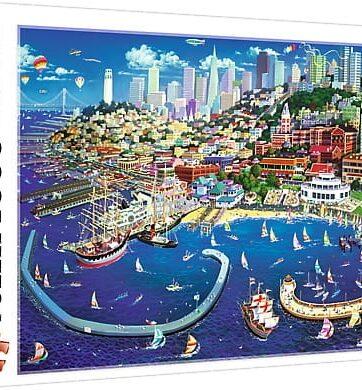 Zdjęcie Puzzle 2000el Zatoka San Francisco - producenta TREFL