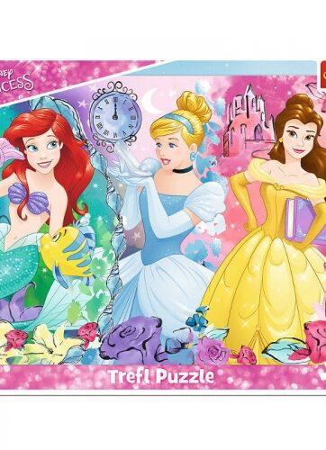Zdjęcie Puzzle 25el ramkowe Magiczne Księżniczki - Trefl - producenta TREFL