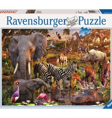 Zdjęcie Puzzle 3000el Zwierzęta Afryki - Ravensburger - producenta RAVENSBURGER
