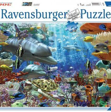 Zdjęcie Puzzle 3000el Życie pod wodą - Ravensburger - producenta RAVENSBURGER