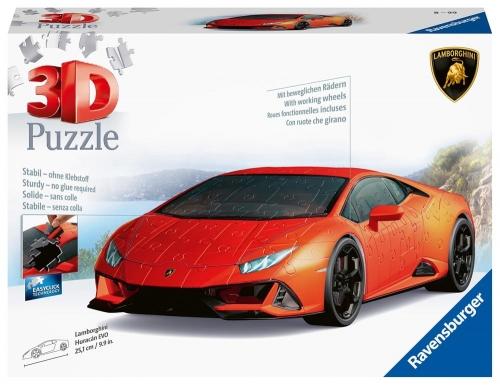 Zdjęcie Puzzle 3D 108el Lamborghini Huracan Evo - producenta RAVENSBURGER