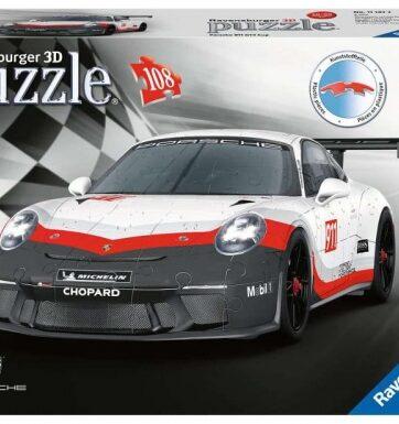Zdjęcie Puzzle 3D 108el Porsche GT3 Cup - producenta RAVENSBURGER