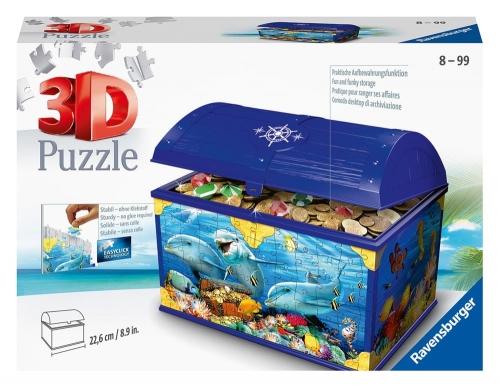 Zdjęcie Puzzle 3D 216el Podwodna szkatułka - producenta RAVENSBURGER
