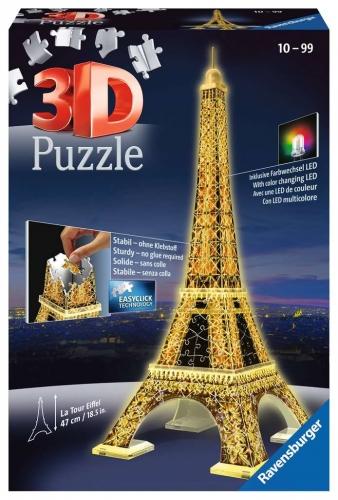 Zdjęcie Puzzle 3D 216el Wieża Eiffla - Ravensburger - producenta RAVENSBURGER