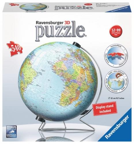 Zdjęcie Puzzle 3D 540el Globus - Ravensburger - producenta RAVENSBURGER
