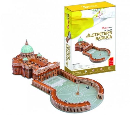 Zdjęcie Puzzle 3D Bazylika Św. Piotra - producenta DANTE