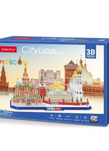Zdjęcie Puzzle 3D City Line Moscow 204el - producenta DANTE