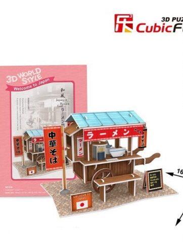 Zdjęcie Puzzle 3D Domki świata-Japonia. Ramen 31el - producenta DANTE