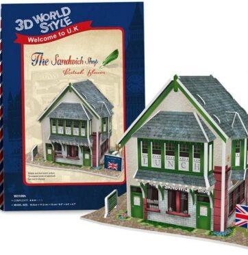 Zdjęcie Puzzle 3D Domki świata-Wielka Brytania Sandwich Sho 36el - producenta DANTE
