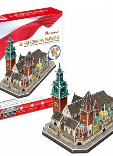 Zdjęcie Puzzle 3D Katedra na Wawelu 101el - producenta DANTE
