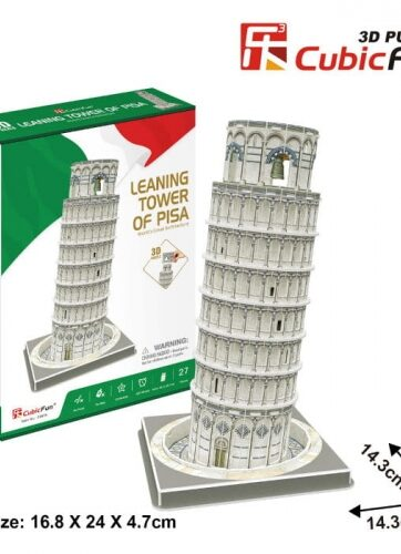 Zdjęcie Puzzle 3D Krzywa wieża w Pizie Dante - producenta DANTE