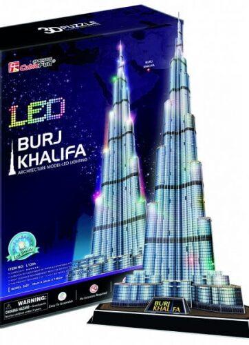 Zdjęcie Puzzle 3D LED Burj Khalifa 136el. - producenta DANTE