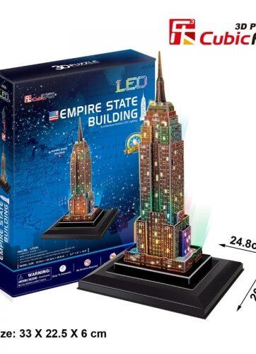 Zdjęcie Puzzle 3D LED Empire State Builiding - producenta DANTE
