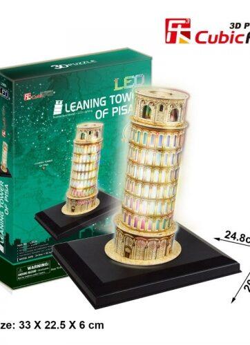Zdjęcie Puzzle 3D LED Krzywa Wieża w Pizie - producenta DANTE