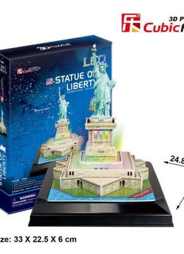 Zdjęcie Puzzle 3D LED Statua Wolności - producenta DANTE