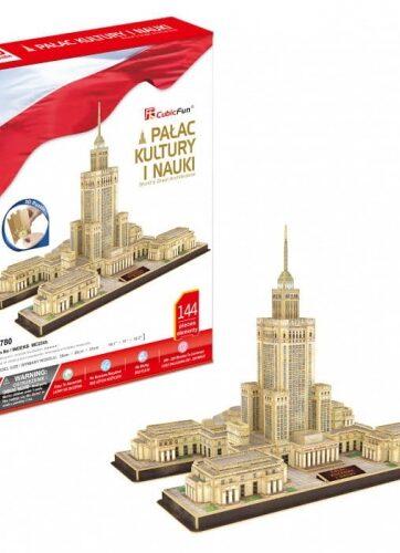 Zdjęcie Puzzle 3D Pałac Kultury i Nauki 144el - producenta DANTE