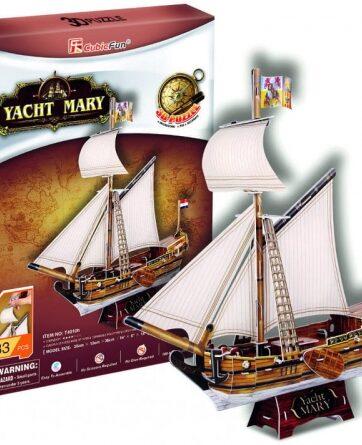 Zdjęcie Puzzle 3D Yacht Mary - producenta DANTE