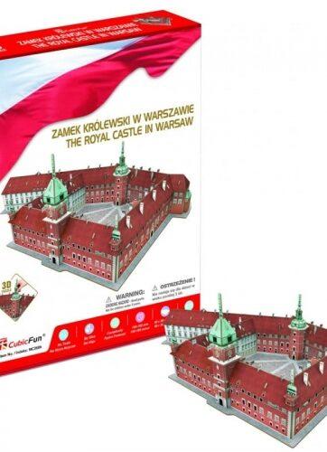 Zdjęcie Puzzle 3D - Zamek Królewski w Warszawie - producenta DANTE