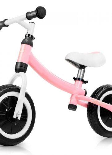 Zdjęcie Rowerek biegowy dla dziewczynki różowy - Spokey - producenta SPOKEY