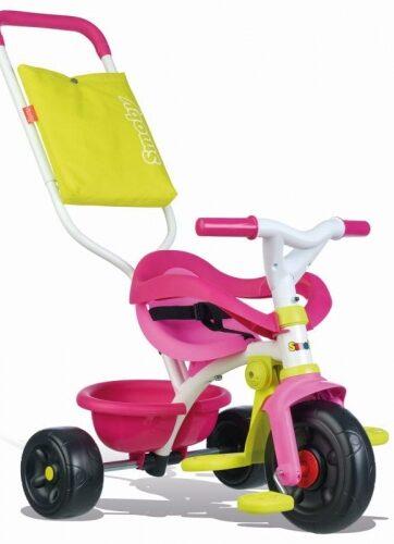 Zdjęcie Rowerek trójkołowy Be Fun różowy - Smoby - producenta SMOBY