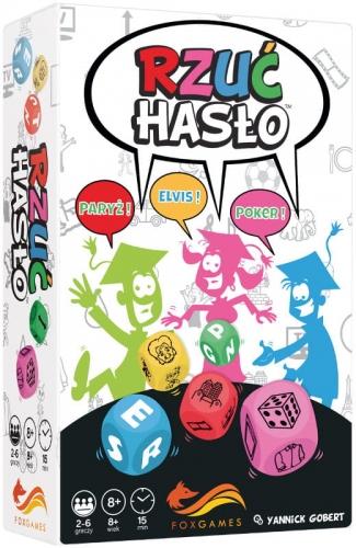 Zdjęcie Rzuć hasło - gra towarzyska - producenta FOKSAL