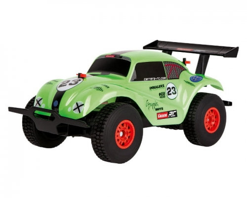 Zdjęcie Samochód zdalnie sterowany - VW Beetle Green - Carrera RC - producenta CARRERA TOYS