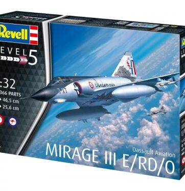 Zdjęcie Samolot 1:32 Mirage III E/RD/0 - Revell - producenta REVELL
