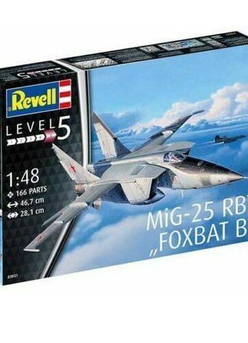 Zdjęcie Samolot 1:48 MIG-25 RBT - Revell - producenta REVELL