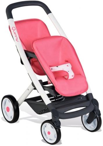 Zdjęcie Spacerówka dla lalek bliźniąt - Smoby - producenta SMOBY