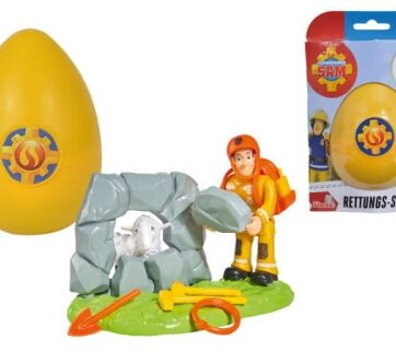 Zdjęcie Strażak Sam - Zestaw ratunkowy w jajku - Simba - producenta SIMBA