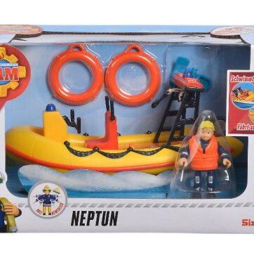 Zdjęcie Strażak Sam - łódź Neptun z figurką - producenta SIMBA