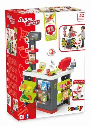 Zdjęcie Supermarket z wózkiem - Smoby - producenta SMOBY