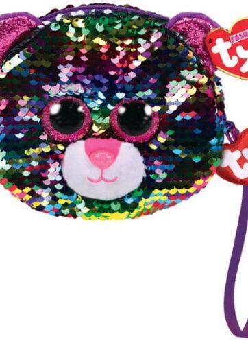 Zdjęcie TY Fashion Sequins DOTTY - cekinowa torba na nadgarstek leopard - producenta TY INC.