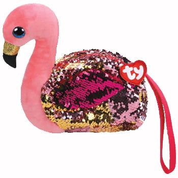 Zdjęcie TY Fashion Sequins GILDA - cekinowa torba na nadgarstek flaming - producenta TY INC.
