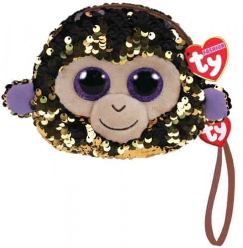 Zdjęcie TY Fashion Sequins - cekinowa saszetka na rękę WADDLES- małpka - producenta TY INC.
