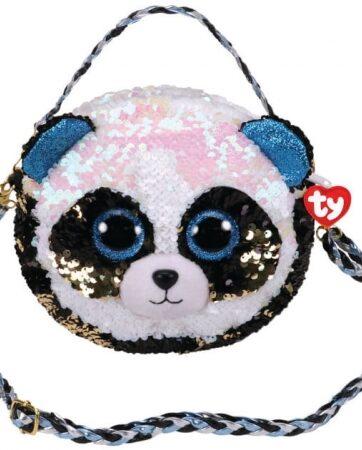 Zdjęcie TY Fashion Sequins cekinowa torba na ramię BAMBOO - panda - producenta TY INC.
