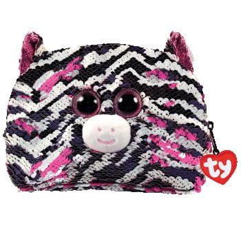 Zdjęcie TY Fashion Sequins duży cekinowy neseser - zebra - producenta TY INC.