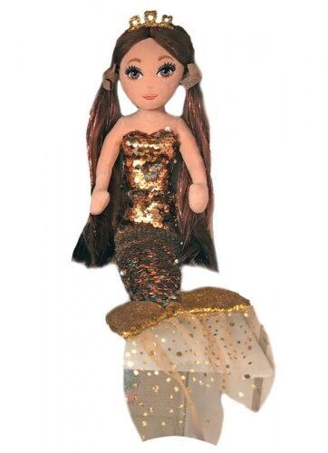 Zdjęcie TY Mermaids GINGER - cekinowa brązowa syrenka - producenta TY INC.