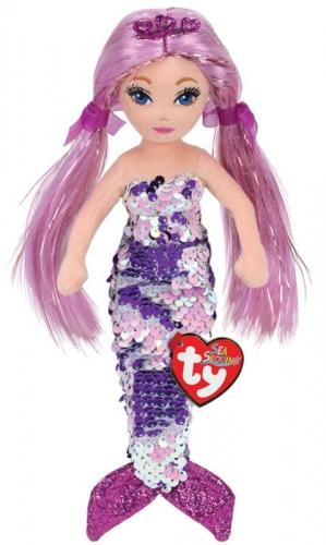 Zdjęcie TY Mermaids ROLELEI - cekinowa fioletowa syrenka - producenta TY INC.