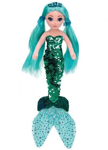 Zdjęcie TY Mermaids WAVERLY - cekinowa turkusowa syrenka - producenta TY INC.